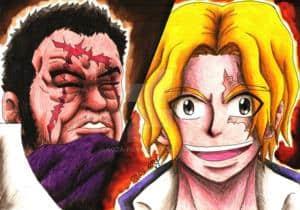 Fujitora vs Sabo