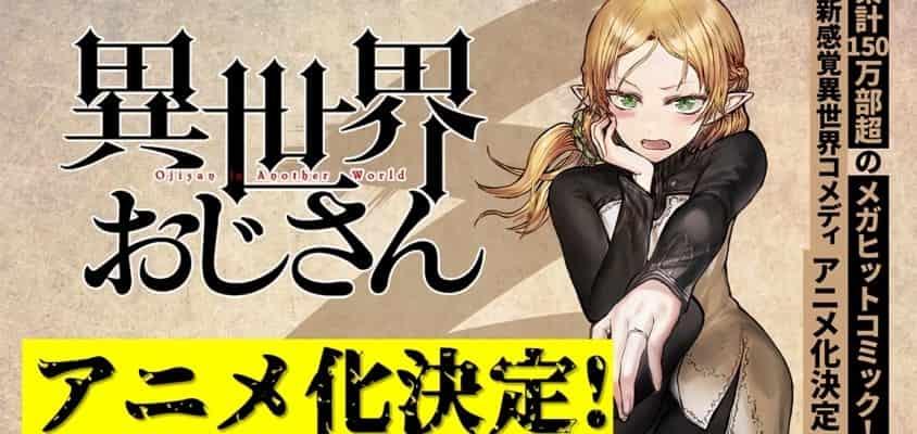 Isekai Ojisan Manga bekommt TV-Anime